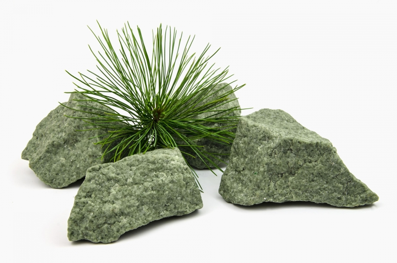 Камни для бани - Жадеит в наличии