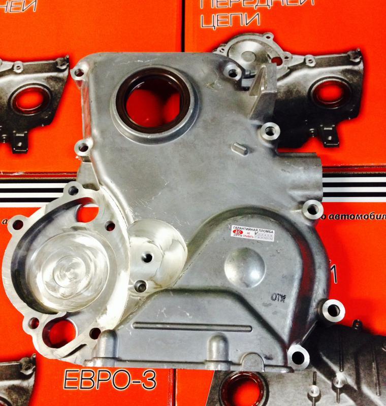 Крышка цепи (ГРМ) передняя двигателя 405-406 ЕВРО-3 (Волга-Газель-3302)