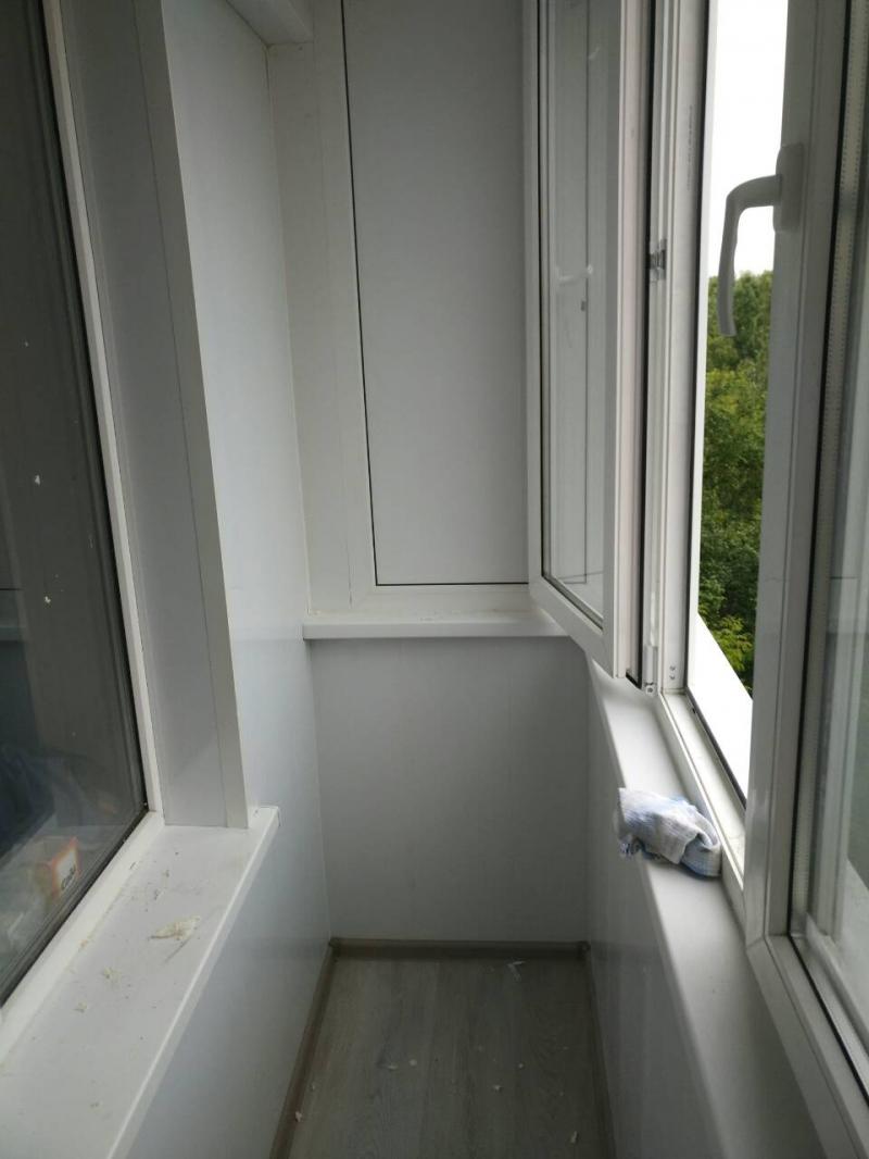 "Балконы и лоджии ""под ключ"" . откосы ,подоконники , наружная."
