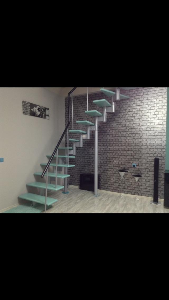 Красивая квартира в центре города с мебелью и техникой, индивидуальное отопление