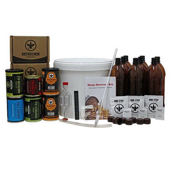 Мини пивоварня домашняя Mini Brewery Kit минипивоварня для дома, квартиры и дачи
