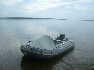 Продам  лодку Гладиатор 330AL с   мотором Tohatsu M 9,8 B