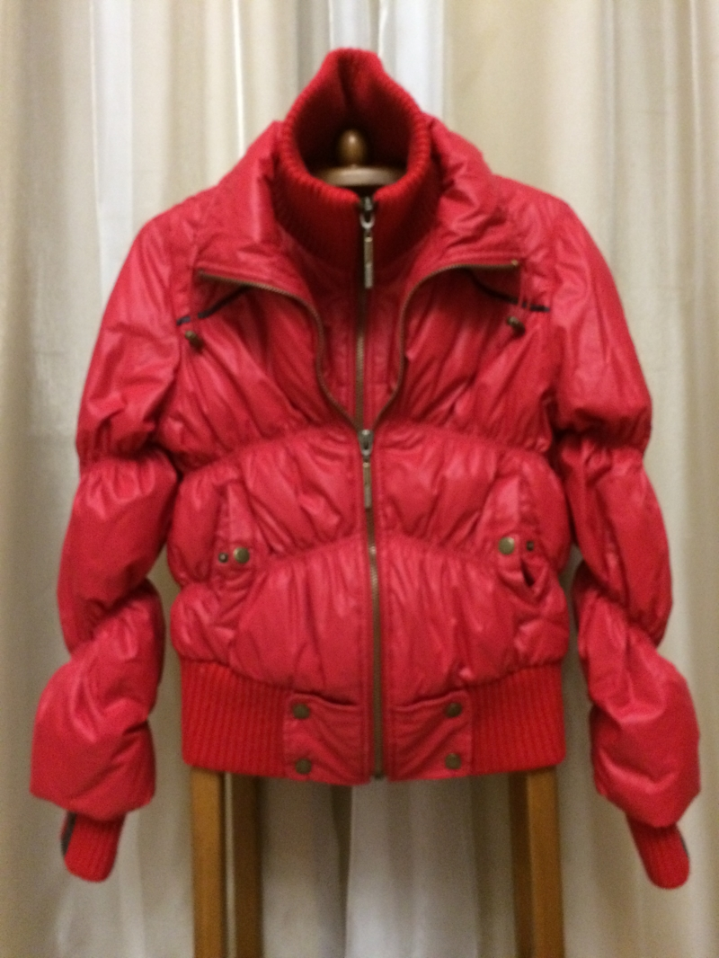 Куртка красная, р.44