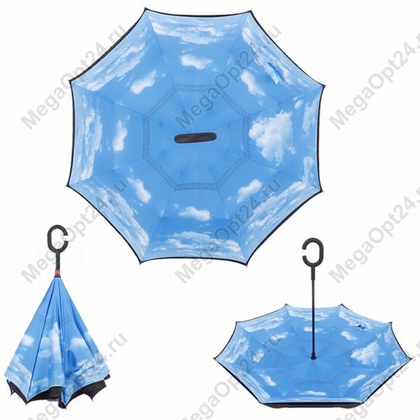 Ветрозащитный зонт Up-brella (Анти- зонт) - удобство и комфорт