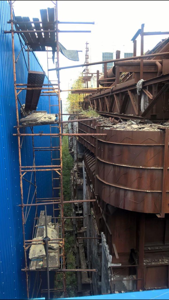 Демонтаж оборудования конструкций сооружений