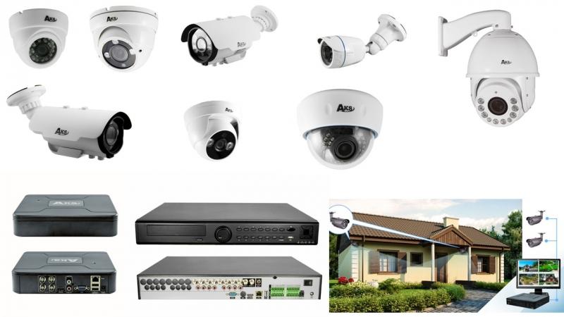 Установка систем видеонаблюдения и домофонов.