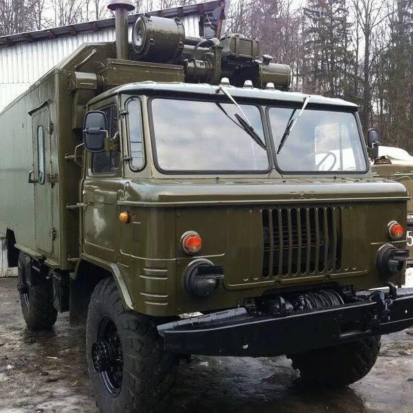 Газ 66 кунг с военного хранения