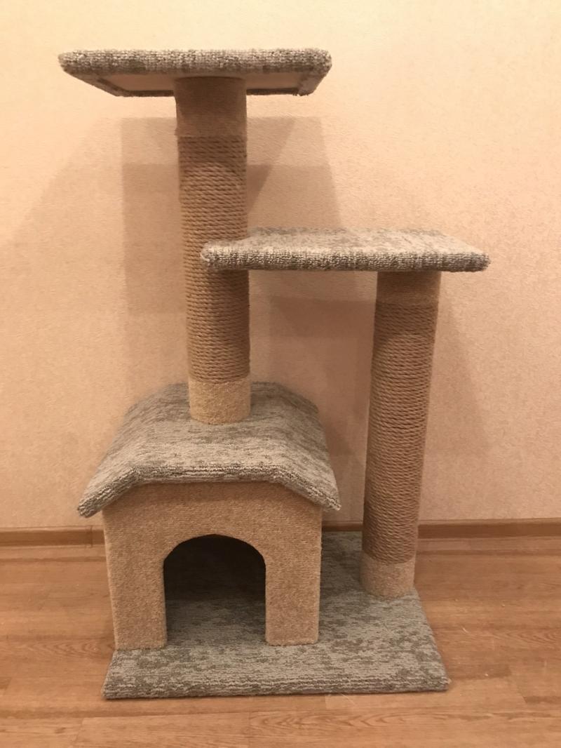 Новый домик игровой комплекс для кошки