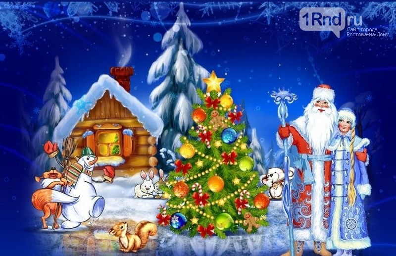 Дед Мороз и Снегурочка.Выезд