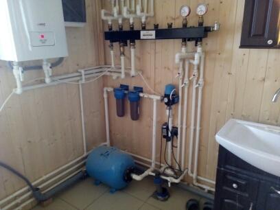 Отопление водоснабжения канализация