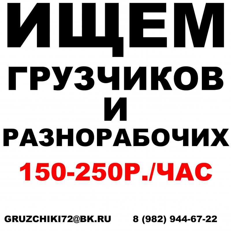 Ищем ГРУЗЧИКОВ, Свободный график