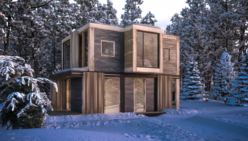 Зимний модульный дом от 450 000р.
