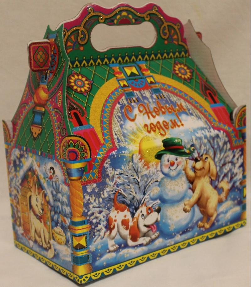 Бабаевская кондитерская фабрика подарки новогодние 16