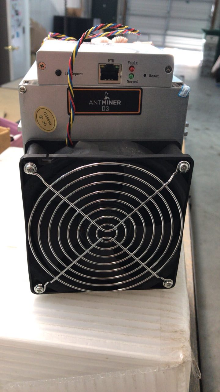 Antminer D3 19 GH/s + PSU