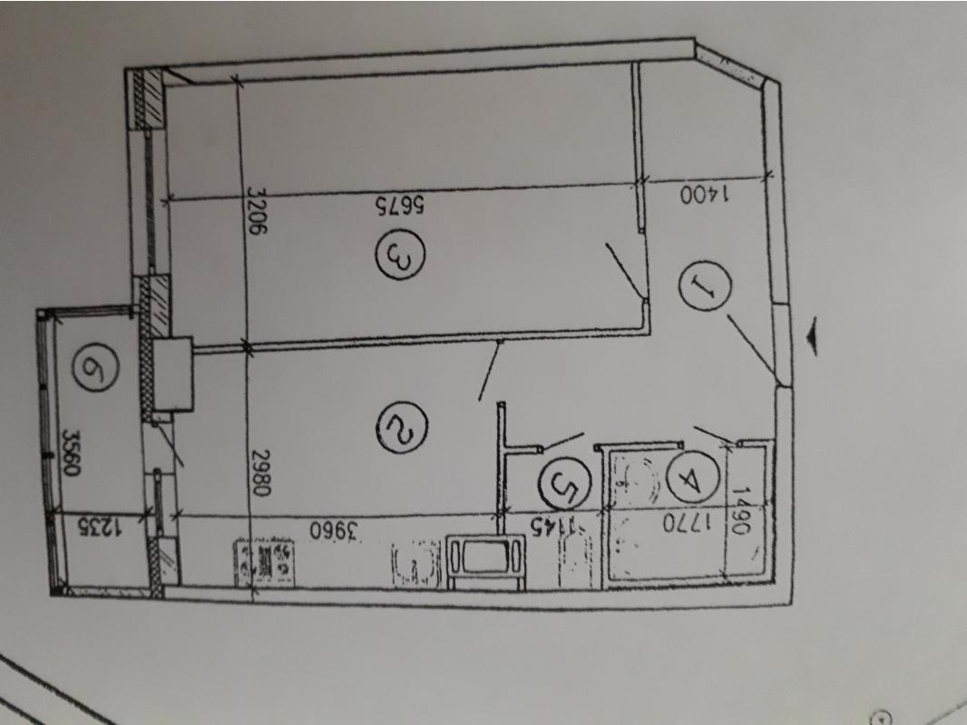 1-к квартира, 46 м2, 4/25 эт.