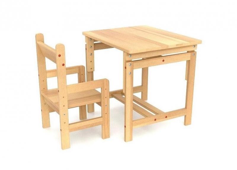 Детский стол-парта со стульчиком «растущий»