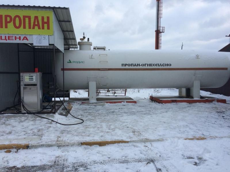 Продается Газовая емкасть