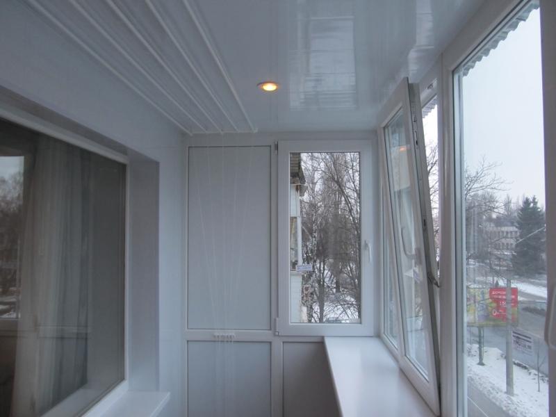 ОКНА ПВХ остекление балкона лоджии