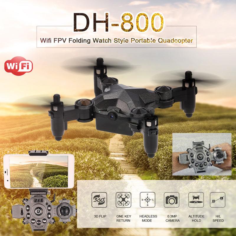 Квадрокоптер с камерой DH-800