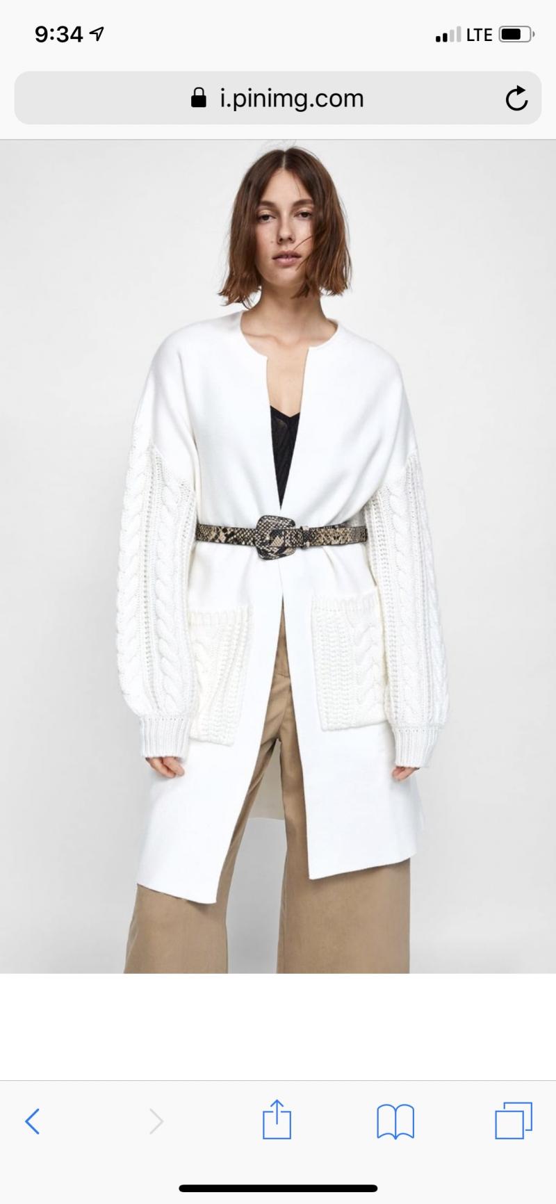 Куплю кардиган/пальто Zara