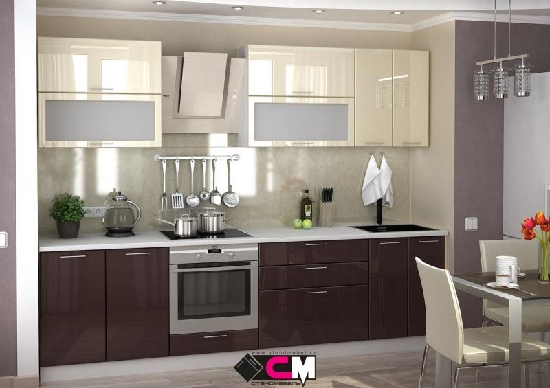 Модульная кухня Ксения 2.8м МДФ