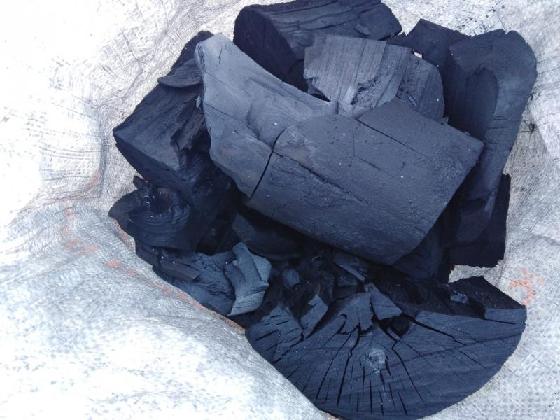 Березовый древесный уголь