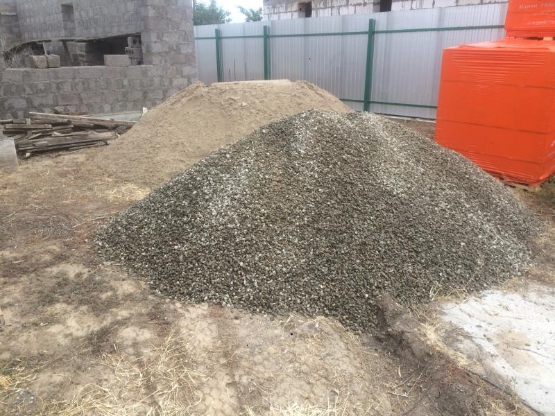 Песок , щебень , грунт , глина