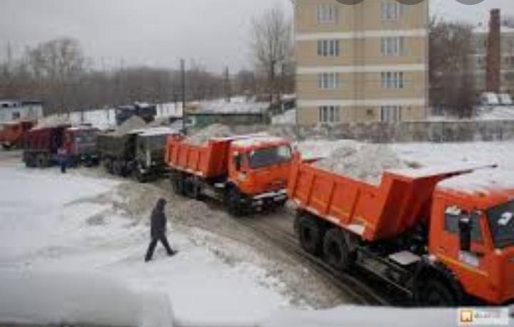 Вывоз снега в Томске
