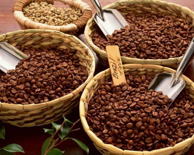 Кофе в зернах (свежая обжарка)