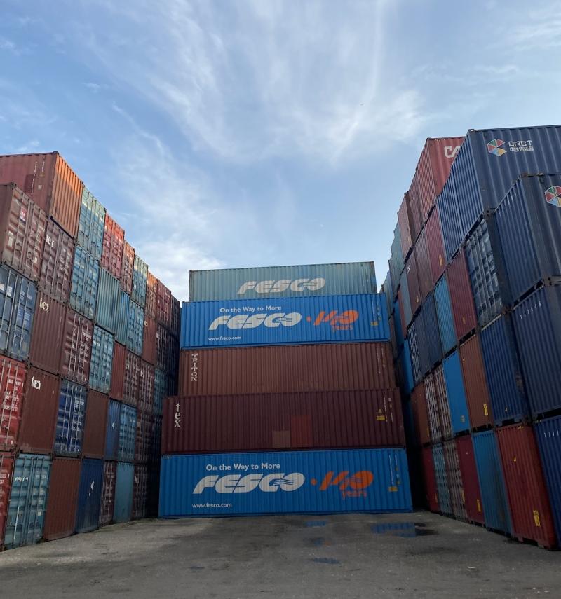 Морской контейнер 40 футов HC б/у