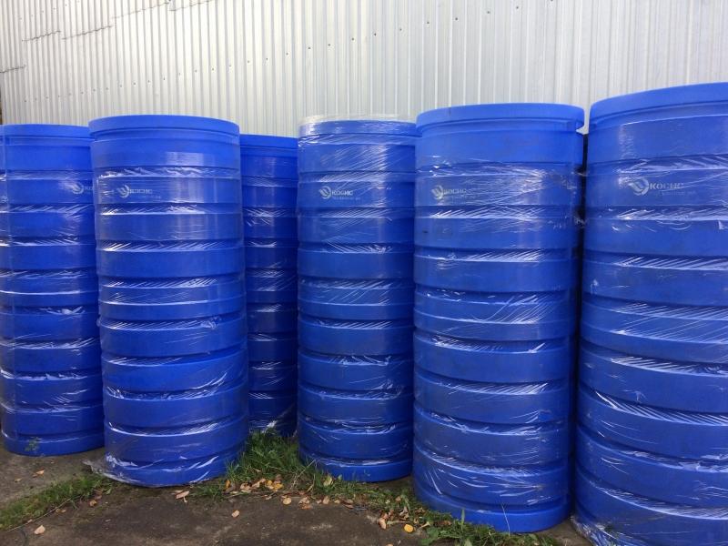Колодцы пластиковые питьевые ,вставки в колодец ремонтные, колодцы с дном