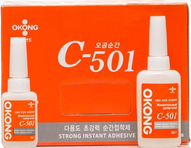 Моментальный супер-клей Оконг C-501 (Okong) Ю. Корея