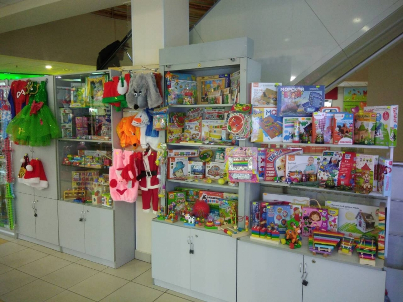 Отдел игрушек