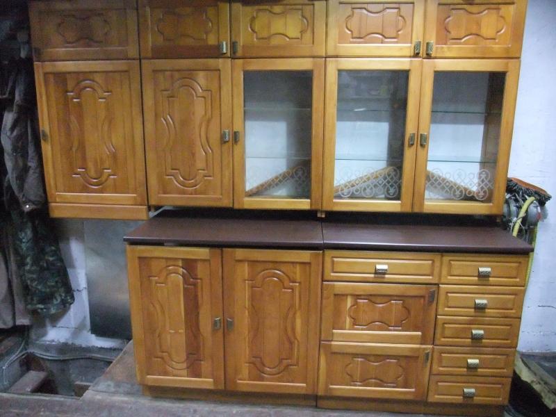 Кухня из сибирского кедра