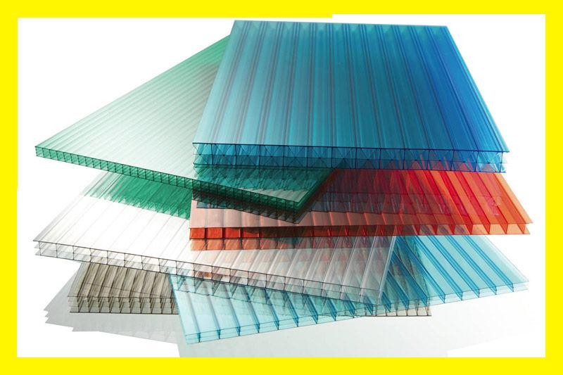 Листы сотового поликарбоната 4мм 2,1х6м прозрачный