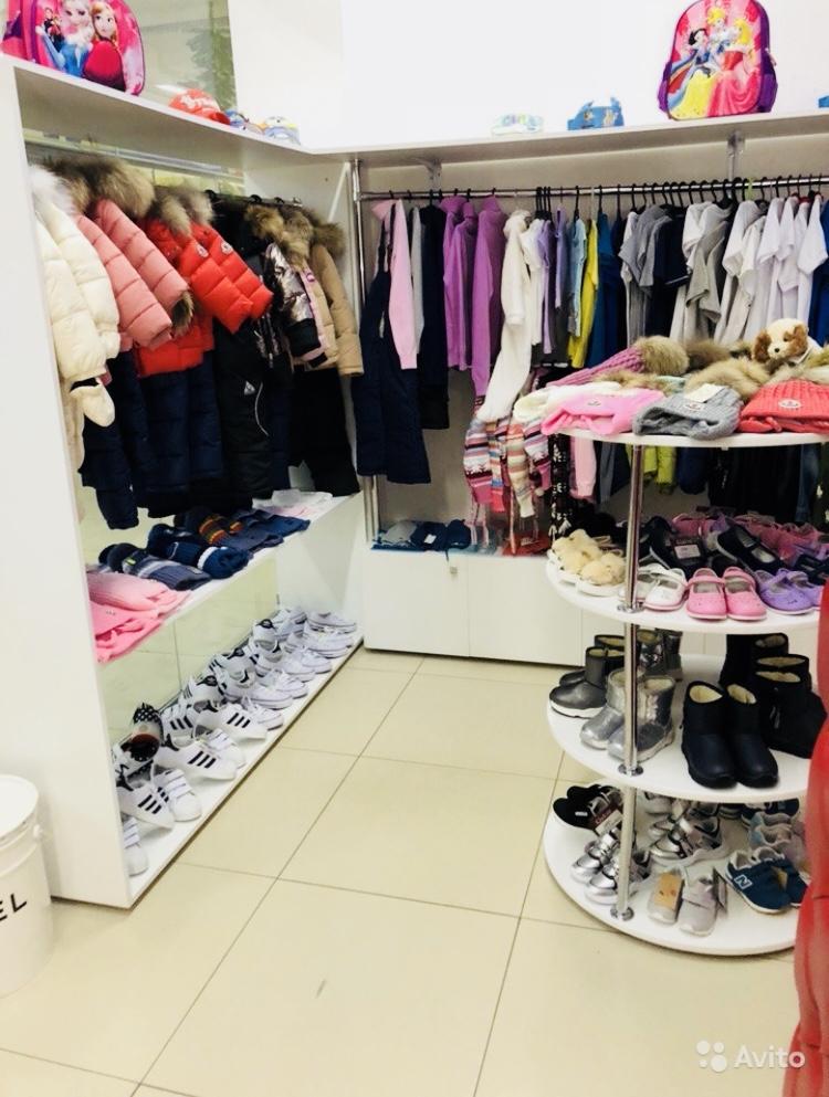 Магазин одежды обуви и игрушек