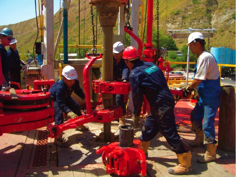 Обучение машиниста буровых установок на нефть и газ