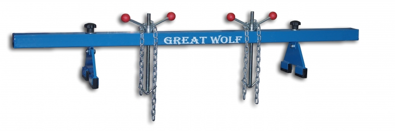 Greaf Wolf траверса для вывешивания двигателя, до 500 кг, 2-х опорная GW0104-1A