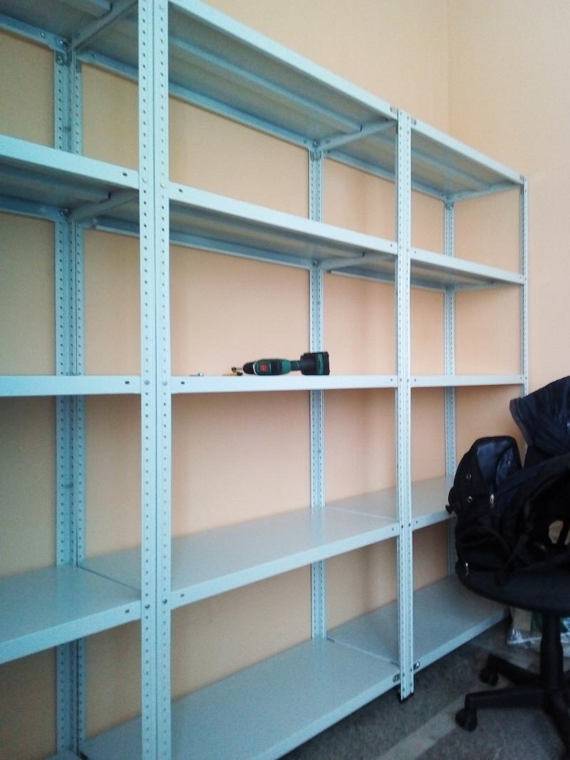 Ремонт, сборка и демонтаж металлических стеллажей