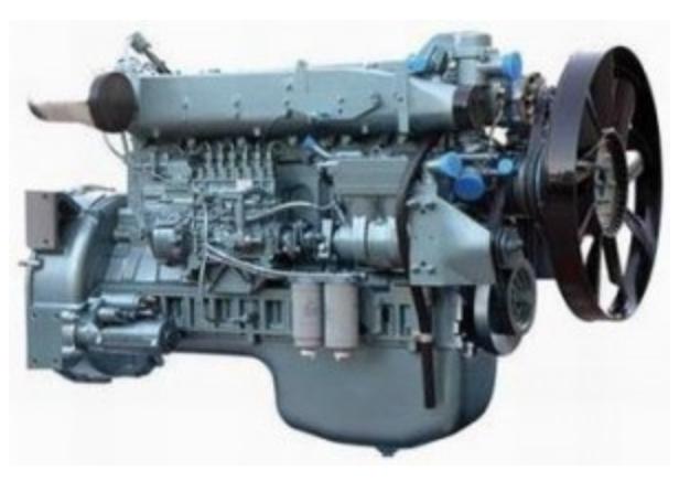 Продам двигатель WD615 (HOWO) в Абакане