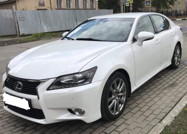 Lexus GS, 2014