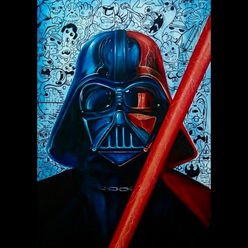 Картина Дарт Вейдер star wars art