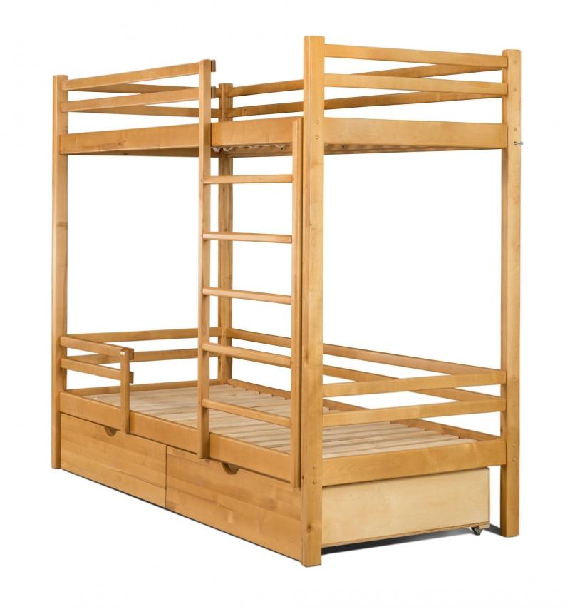 2х-ярусные кровати из БЕРЁЗЫ