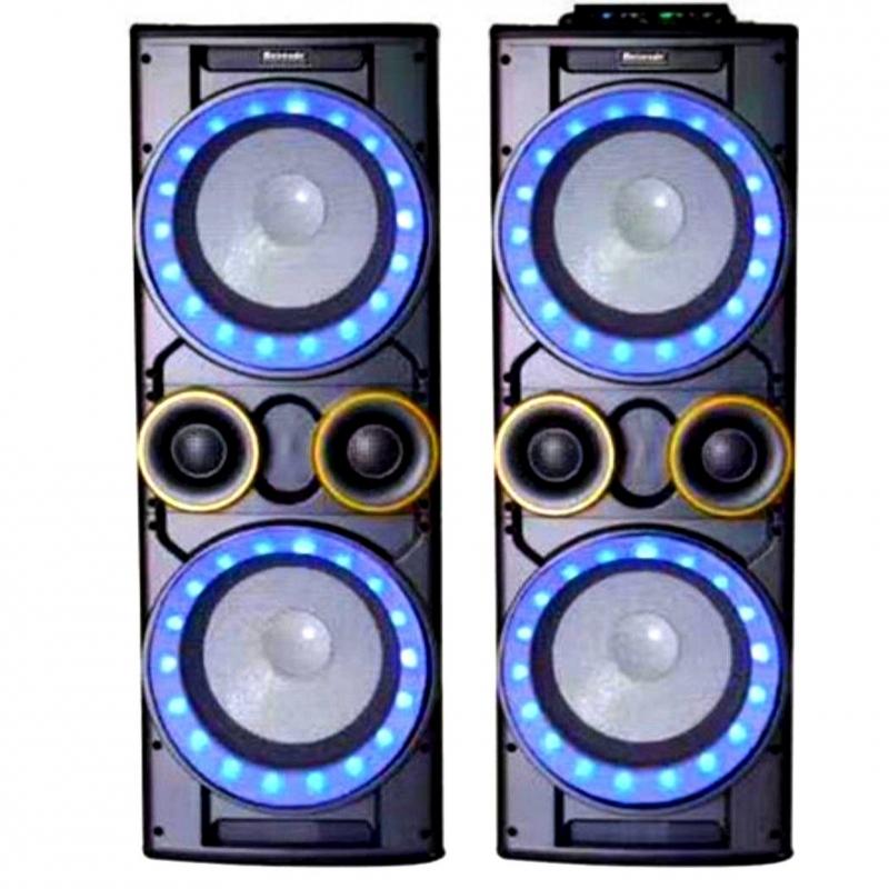 Двойные музыкальные колонки 2000 W