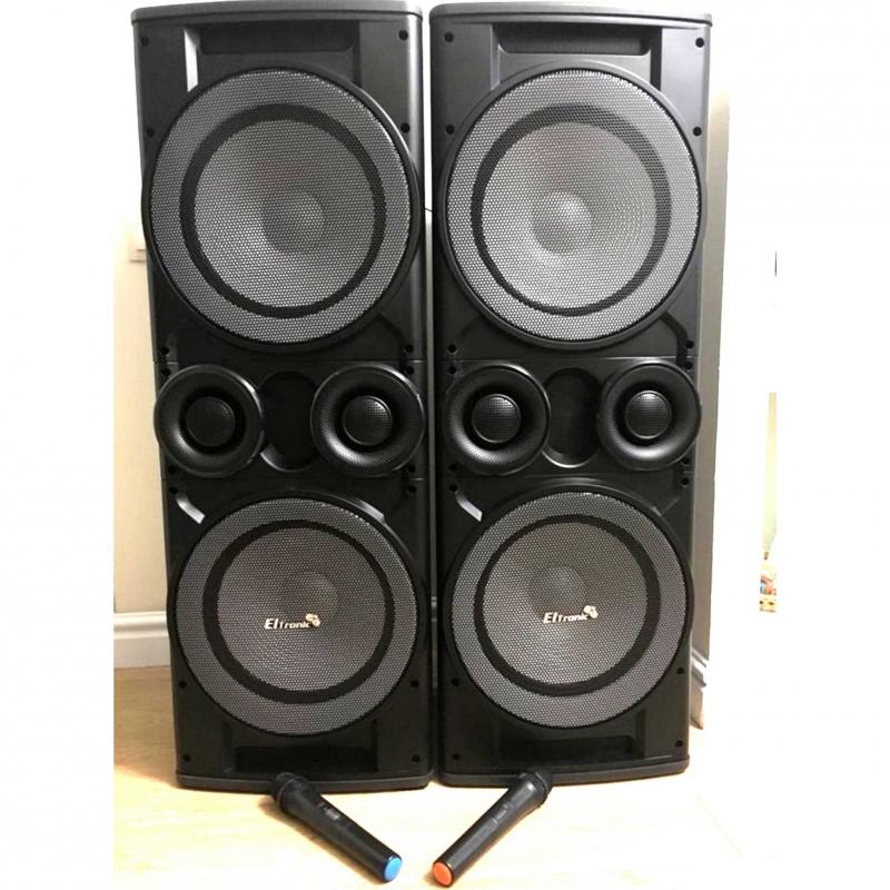 Двойные аудио колонки 2000 W