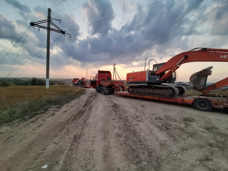 Перевозка габаритных и негабаритных грузов тралом