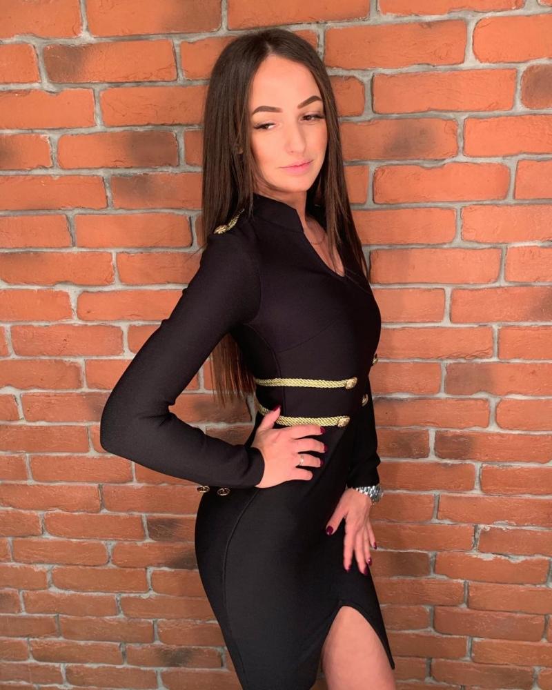 Бандажное платье новое