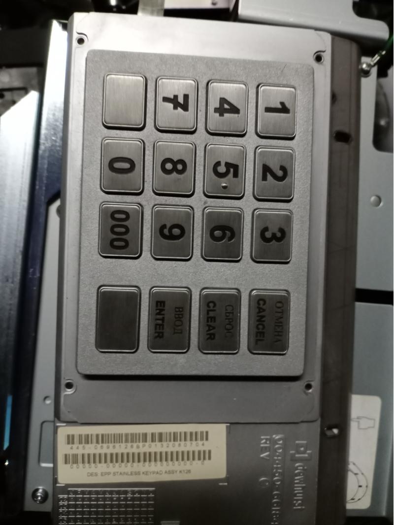 Клавиатура для банкомата NCR, и другие запчасти.