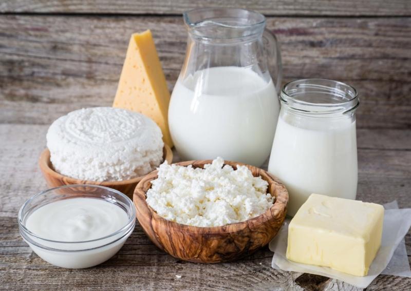 Сыр, молоко, творог