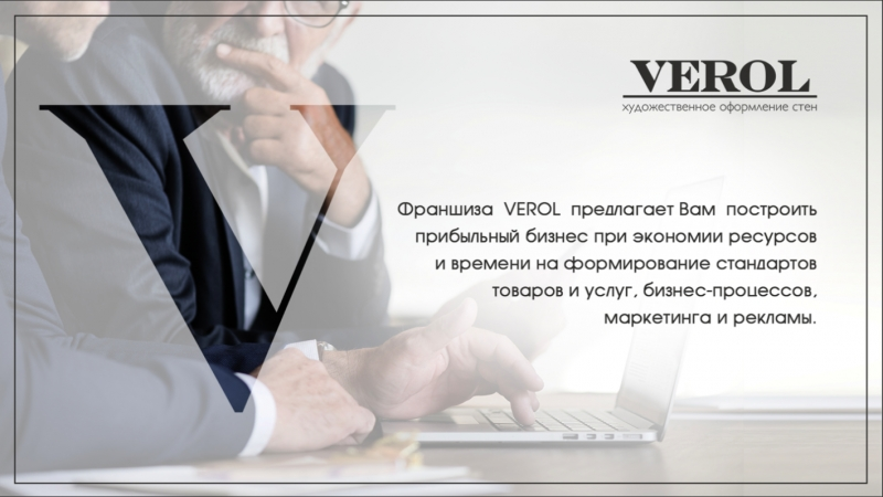 Франшиза оптовой торговли товаров для стен VEROL